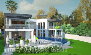 Exclusive, modern new build villa for sale close to the beach in East Marbella 28612
