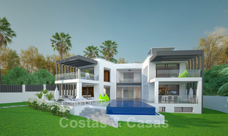 Exclusive, modern new build villa for sale close to the beach in East Marbella 28613