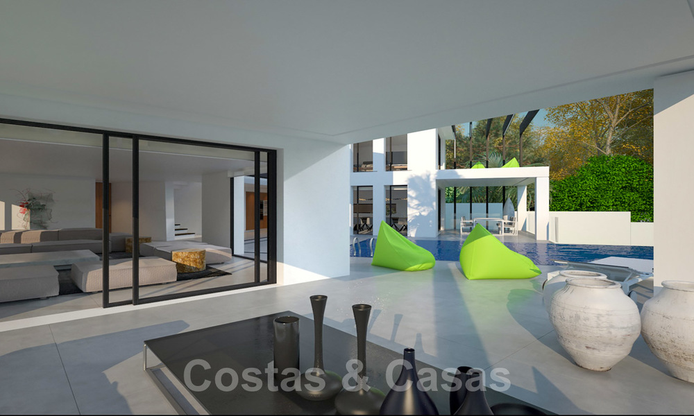 Exclusive, modern new build villa for sale close to the beach in East Marbella 28614