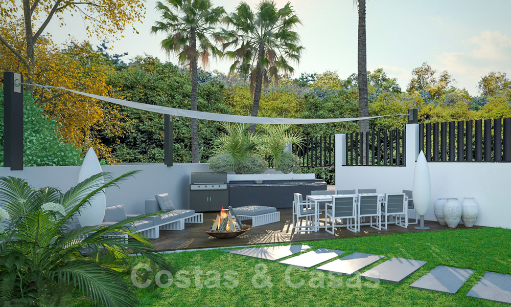 Exclusive, modern new build villa for sale close to the beach in East Marbella 28616