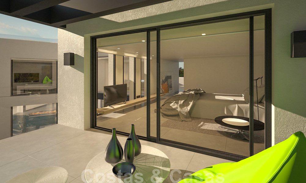Exclusive, modern new build villa for sale close to the beach in East Marbella 28620