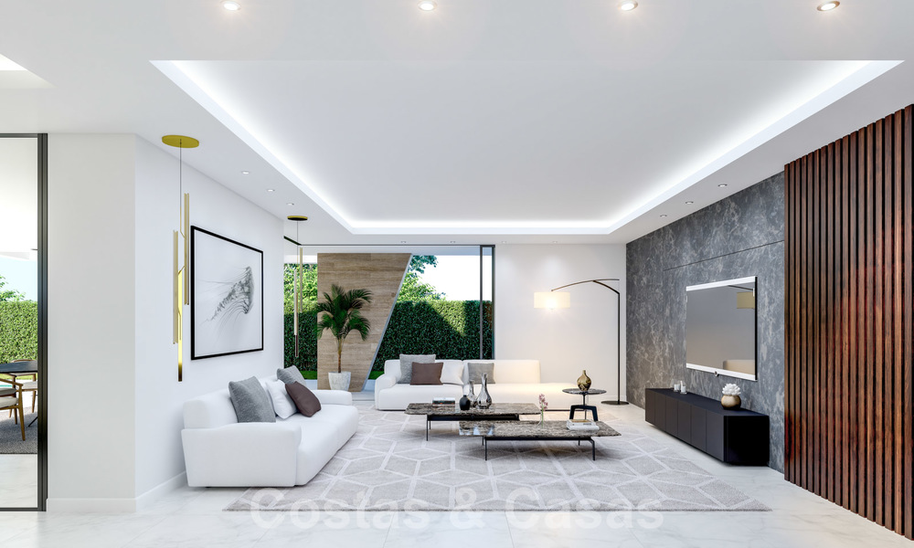 New innovative luxury villa in modern style for sale, beachside Elviria, Marbella 28641