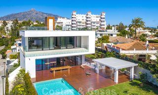 For sale, modern villa ready to move in, within walking distance to Puerto Banus in Nueva Andalucia, Marbella 28647