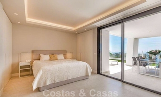 Spacious modern 3-bedroom luxury flat for sale with sea views and ready to move in, Nueva Andalucia, Marbella 28908