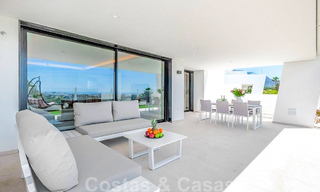 Spacious modern 3-bedroom luxury flat for sale with sea views and ready to move in, Nueva Andalucia, Marbella 28912