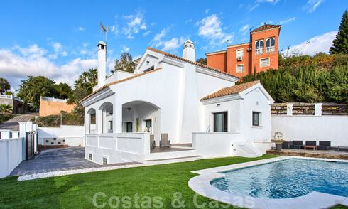 For sale, renovated villa with a contemporary interior on the New Golden Mile, Marbella - Estepona 29366