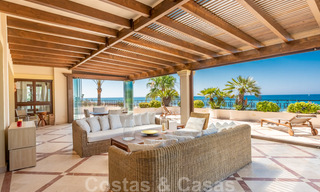 Exclusive first line beach penthouse for sale in Los Monteros, Marbella 29580