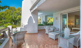 Spacious luxury corner apartment for sale in frontline beach complex within walking distance of Estepona centre 29665