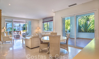 Spacious luxury corner apartment for sale in frontline beach complex within walking distance of Estepona centre 29667