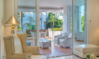 Spacious luxury corner apartment for sale in frontline beach complex within walking distance of Estepona centre 29684
