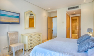 Spacious luxury corner apartment for sale in frontline beach complex within walking distance of Estepona centre 29686