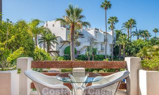 Spacious luxury corner apartment for sale in frontline beach complex within walking distance of Estepona centre 29689