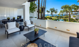 Luxurious fully renovated apartment with stunning sea views for sale in Puente Romano - Golden Mile, Marbella 29901