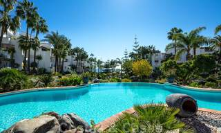 Luxurious fully renovated apartment with stunning sea views for sale in Puente Romano - Golden Mile, Marbella 29907