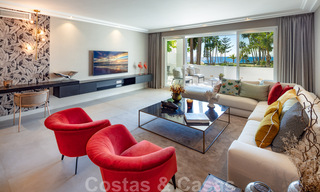 Luxurious fully renovated apartment with stunning sea views for sale in Puente Romano - Golden Mile, Marbella 29918