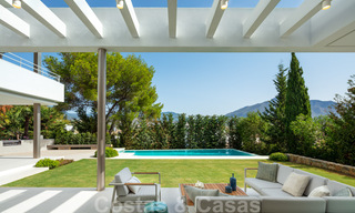 Elegant new built villa for sale with beautiful views of the La Concha mountain in Nueva Andalucia - Marbella 30061