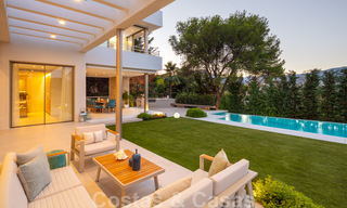 Elegant new built villa for sale with beautiful views of the La Concha mountain in Nueva Andalucia - Marbella 30076