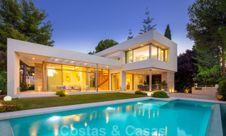 Elegant new built villa for sale with beautiful views of the La Concha mountain in Nueva Andalucia - Marbella 30078