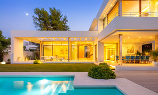 Elegant new built villa for sale with beautiful views of the La Concha mountain in Nueva Andalucia - Marbella 30079