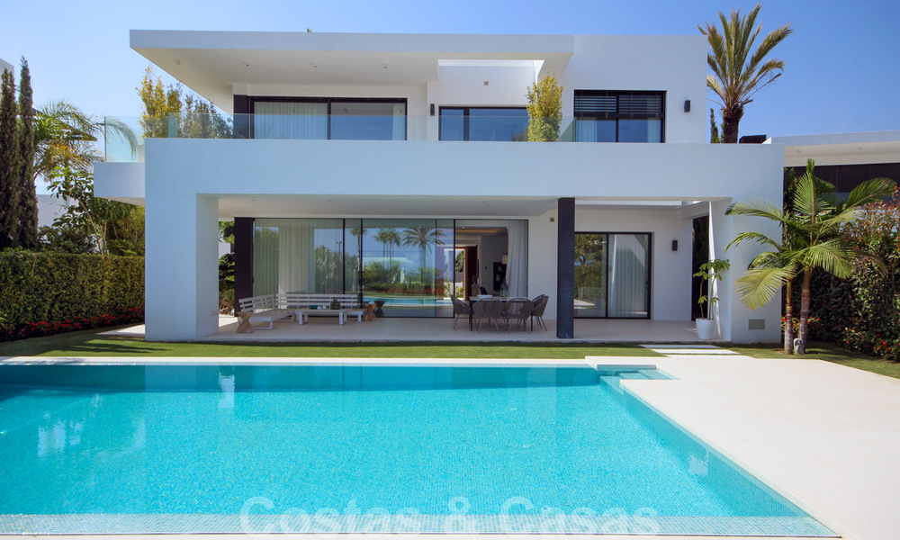 Brand New modern Villa for sale on the Golden Mile, Marbella. Special discount until 31/12! 30242