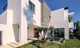 Brand New modern Villa for sale on the Golden Mile, Marbella. Special discount until 31/12! 30243