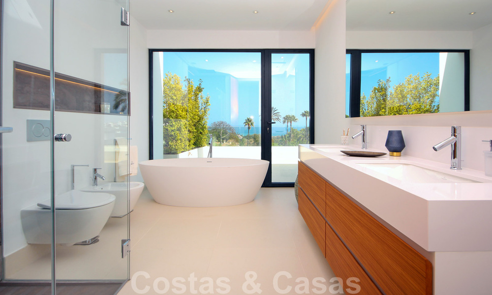 Brand New modern Villa for sale on the Golden Mile, Marbella. Special discount until 31/12! 30249