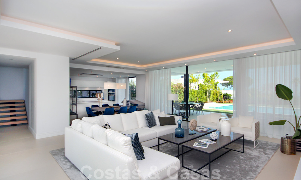 Brand New modern Villa for sale on the Golden Mile, Marbella. Special discount until 31/12! 30255