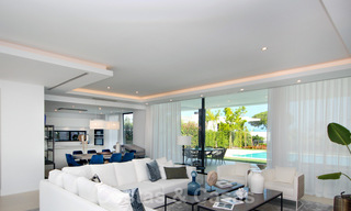 Brand New modern Villa for sale on the Golden Mile, Marbella. Special discount until 31/12! 30256