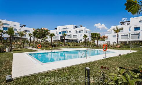 Ready to move in new modern penthouse corner flat for sale in Benahavis - Marbella 30265