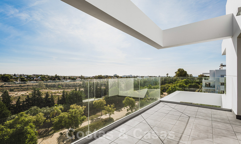 Ready to move in new modern penthouse corner flat for sale in Benahavis - Marbella 30273