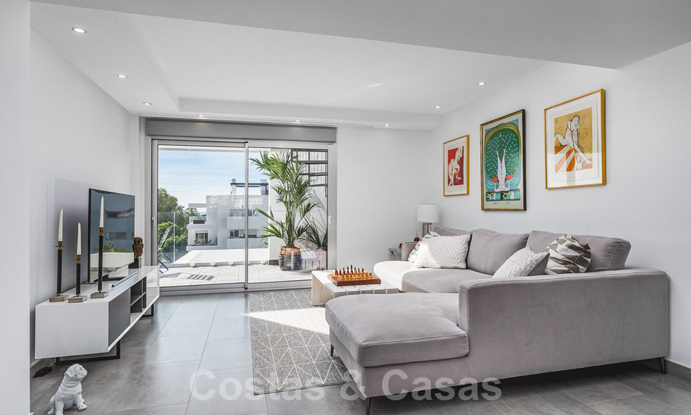 Ready to move in new modern penthouse corner flat for sale in Benahavis - Marbella 30277