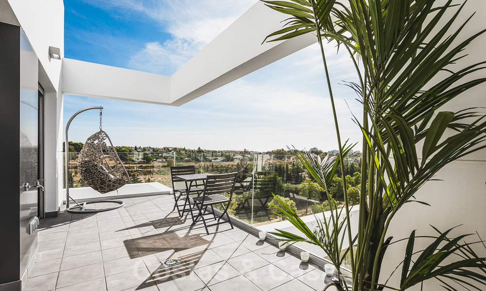 Ready to move in new modern penthouse corner flat for sale in Benahavis - Marbella 30278