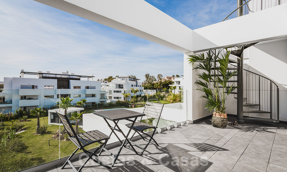 Ready to move in new modern penthouse corner flat for sale in Benahavis - Marbella 30279