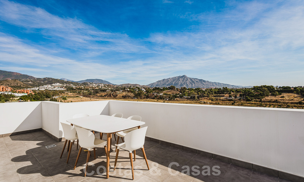 Ready to move in new modern penthouse corner flat for sale in Benahavis - Marbella 30282