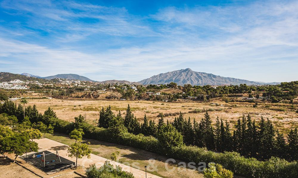 Ready to move in new modern penthouse corner flat for sale in Benahavis - Marbella 30283