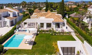 Stylish renovated villa for sale with beautiful views of the mountain range in Nueva Andalucia - Marbella, walking distance to amenities 30293