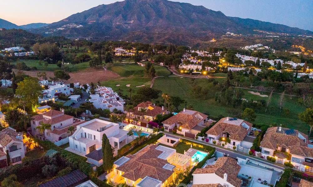 Stylish renovated villa for sale with beautiful views of the mountain range in Nueva Andalucia - Marbella, walking distance to amenities 30311