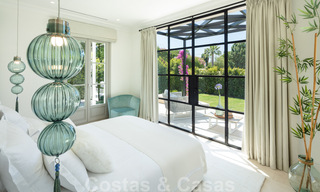 2 Elegant top quality new luxury villas for sale in a classic and Provencal style above the Golden Mile in Marbella 30467
