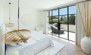 2 Elegant top quality new luxury villas for sale in a classic and Provencal style above the Golden Mile in Marbella 30469