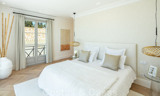 2 Elegant top quality new luxury villas for sale in a classic and Provencal style above the Golden Mile in Marbella 30471