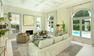 2 Elegant top quality new luxury villas for sale in a classic and Provencal style above the Golden Mile in Marbella 30476
