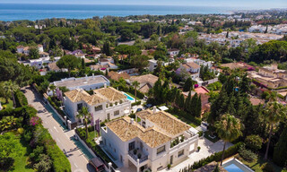 2 Elegant top quality new luxury villas for sale in a classic and Provencal style above the Golden Mile in Marbella 30482