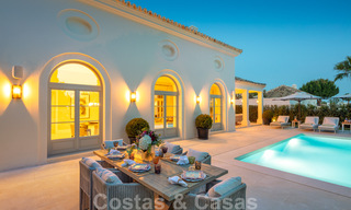2 Elegant top quality new luxury villas for sale in a classic and Provencal style above the Golden Mile in Marbella 30489