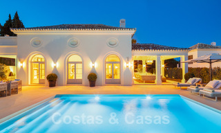 2 Elegant top quality new luxury villas for sale in a classic and Provencal style above the Golden Mile in Marbella 30492