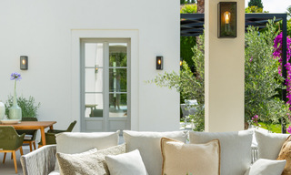 2 Elegant top quality new luxury villas for sale in a classic and Provencal style above the Golden Mile in Marbella 30494