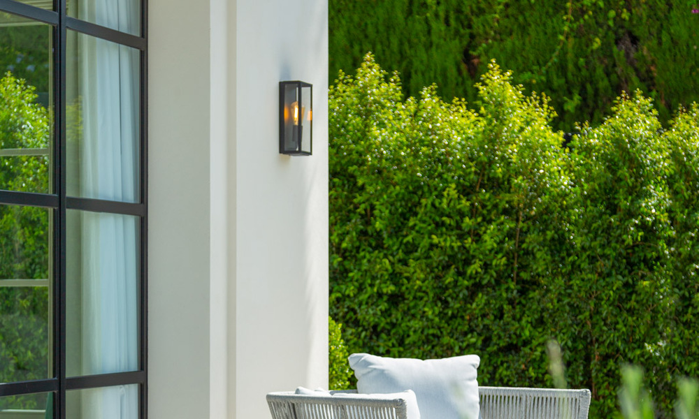 2 Elegant top quality new luxury villas for sale in a classic and Provencal style above the Golden Mile in Marbella 30495