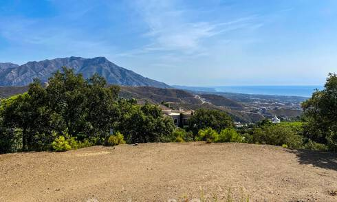 Building plot with sea view for sale in La Zagaleta, Benahavis - Marbella 30640