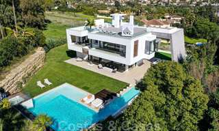 Ready to move in modern villa for sale within walking distance to amenities and Puerto Banus in Nueva Andalucia, Marbella 30701