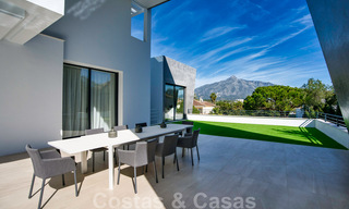 Ready to move in modern villa for sale within walking distance to amenities and Puerto Banus in Nueva Andalucia, Marbella 30703