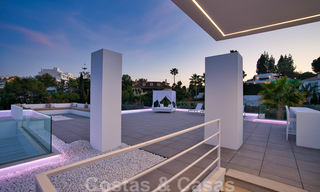 Ready to move in modern villa for sale within walking distance to amenities and Puerto Banus in Nueva Andalucia, Marbella 30706